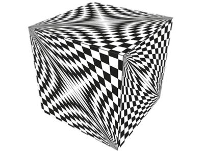 "Geobender Cube ""Abstract-2"""