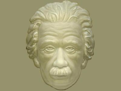 Einstein Hollow Face Illusion