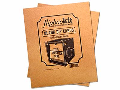 Blank Card Kit for FlipBooKit