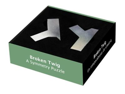 Broken Twig - a symmetry puzzle
