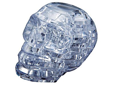 Crystal Puzzle - Skull
