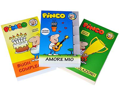 Flipbooks - set of 3