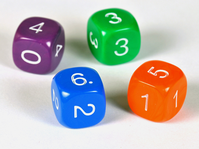 Non Transitive Dice - Set 1