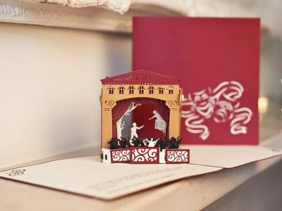 Romeo & Juliet Pop Up Card